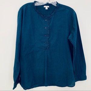 Gap lightweight chambray shirt